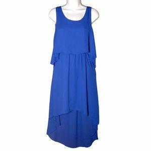 FREE W/ PURCHASE Freebird Chiffon High Low Dress M